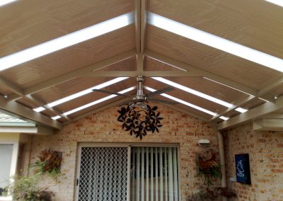Gable With Light Panels
