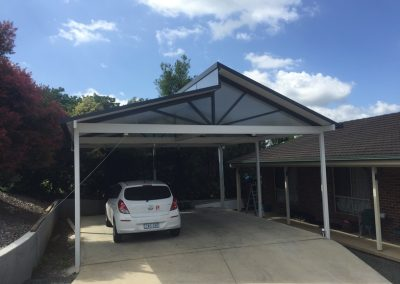 Split Gable Carport