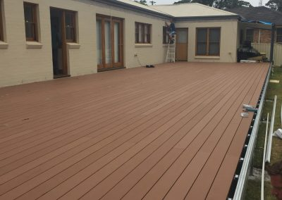 Spantec and Mod Wood Deck