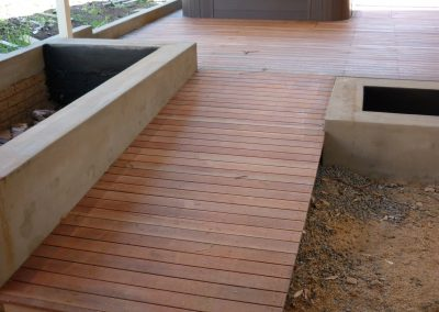 Deck With Wheelchair Access