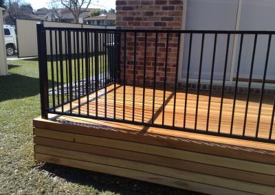 Deck and Flat Top Handrail